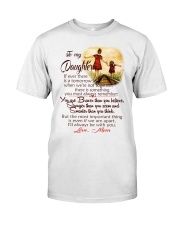TO MY DAUGHTER LOVE MOM Classic T-Shirt thumbnail