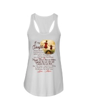 TO MY DAUGHTER LOVE MOM Ladies Flowy Tank thumbnail