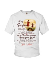 TO MY DAUGHTER LOVE MOM Youth T-Shirt thumbnail