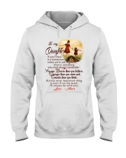 TO MY DAUGHTER LOVE MOM Hooded Sweatshirt thumbnail