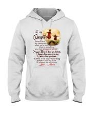 TO MY DAUGHTER LOVE MOM Hooded Sweatshirt thumbnail
