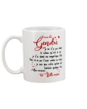 À mon cher Gendre Mug back