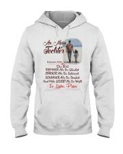 AN MEINE TOCHTER IN LIEBE PAPA Hooded Sweatshirt thumbnail