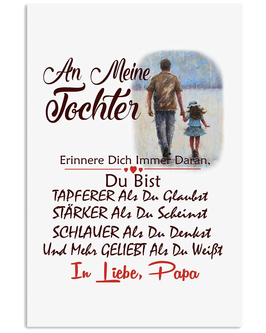 AN MEINE TOCHTER IN LIEBE PAPA 11x17 Poster