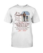 TO MY DAUGHTER LOVE DAD Premium Fit Mens Tee thumbnail
