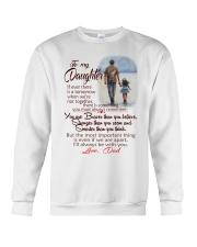 TO MY DAUGHTER LOVE DAD Crewneck Sweatshirt thumbnail
