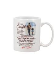 TO MY DAUGHTER LOVE DAD Mug thumbnail