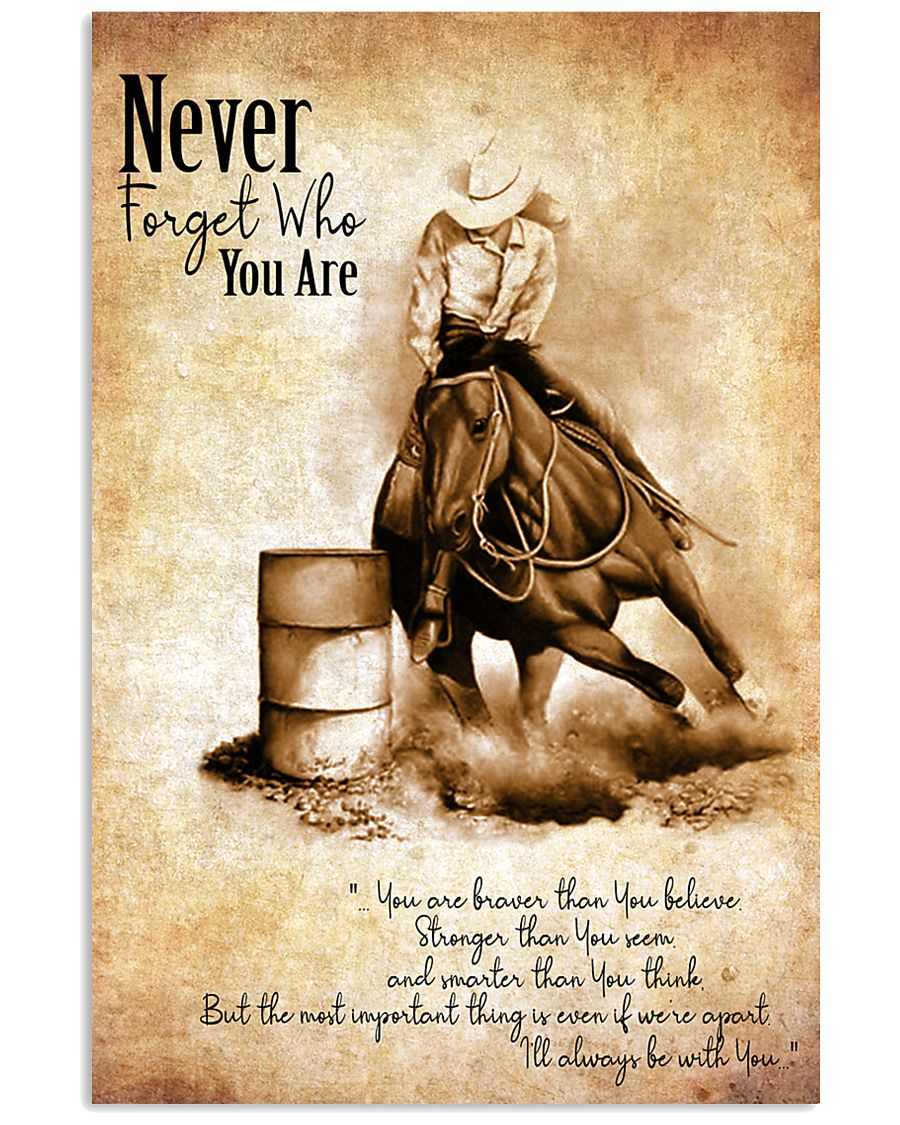 BARREL RACING Poster 11x17 Poster