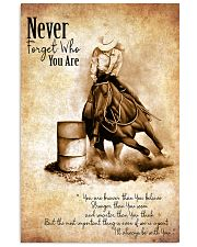 BARREL RACING Poster 11x17 Poster front