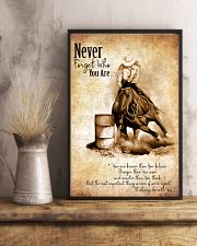 BARREL RACING Poster 11x17 Poster lifestyle-poster-3