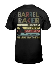 BARREL RACING Shirt Classic T-Shirt back