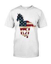 US FLAG Shirt Classic T-Shirt front
