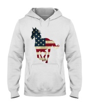 US FLAG Shirt Hooded Sweatshirt thumbnail