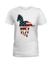 US FLAG Shirt Ladies T-Shirt thumbnail