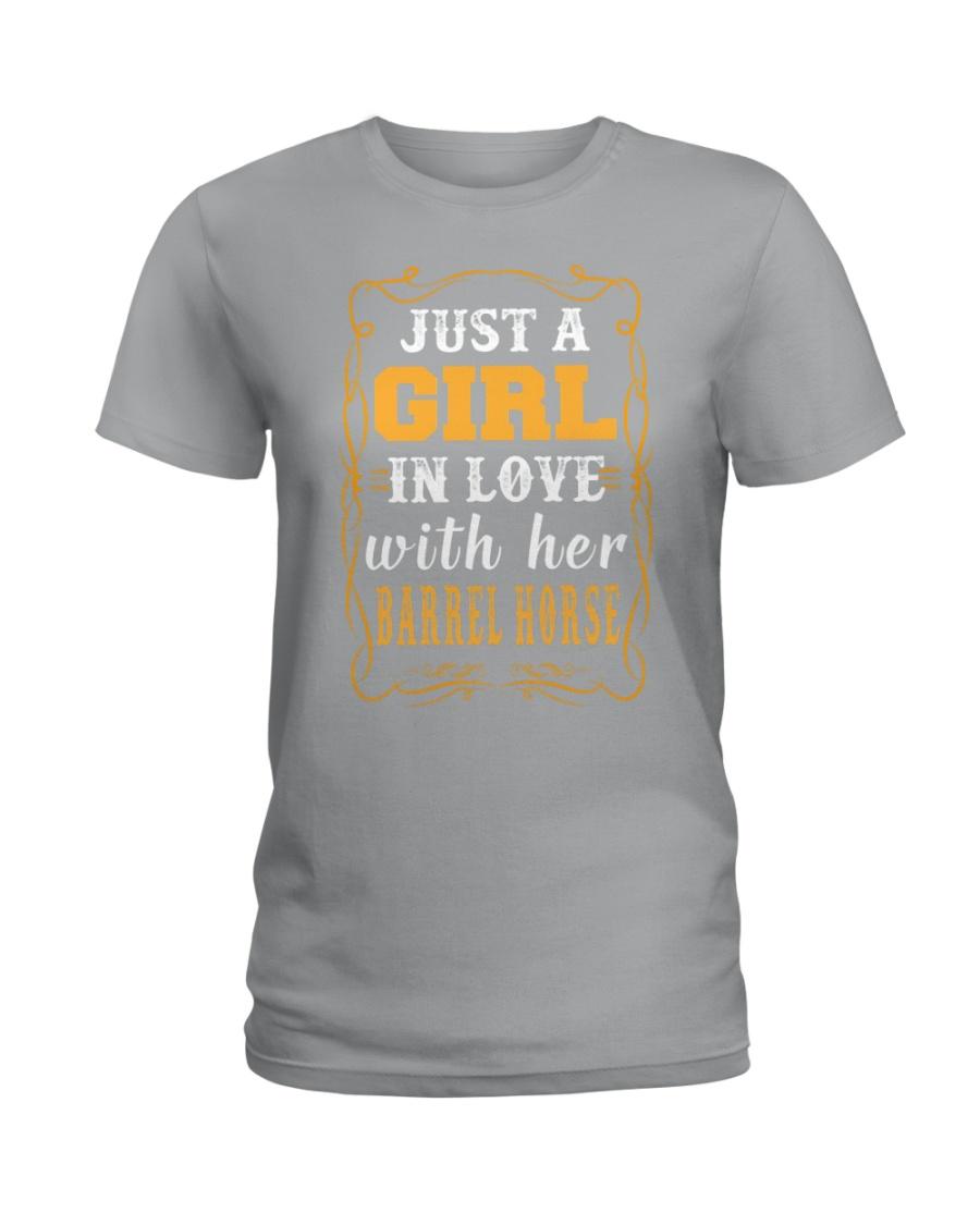 JUST A GIRL Shirt Ladies T-Shirt
