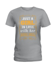 JUST A GIRL Shirt Ladies T-Shirt front