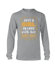 JUST A GIRL Shirt Long Sleeve Tee thumbnail