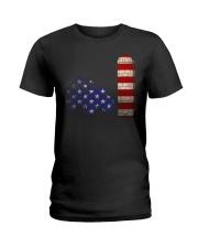 US FLAG Shirt Ladies T-Shirt thumbnail