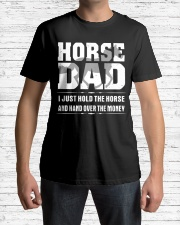 HORSE DAD Shirt Classic T-Shirt lifestyle-mens-crewneck-front-1