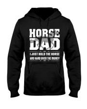 HORSE DAD Shirt Hooded Sweatshirt thumbnail