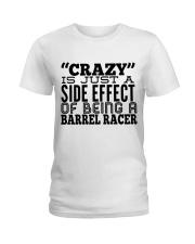 BARREL RACING Shirt Ladies T-Shirt thumbnail