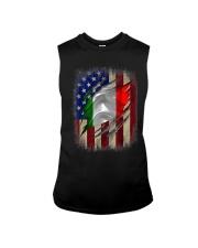 American Flag Italian Blood Family Heritage   Sleeveless Tee thumbnail
