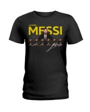 Lionel Messi 6 Golden Balls signature shirt Ladies T-Shirt thumbnail