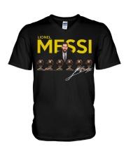 Lionel Messi 6 Golden Balls signature shirt V-Neck T-Shirt thumbnail