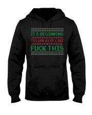 It's beginning to look a lot like fuck this ugly C Hooded Sweatshirt thumbnail