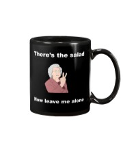 There's the salad now leave me alone mug Mug front