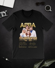 ABBA 40th years happy new year signatures shirt Premium Fit Mens Tee lifestyle-mens-crewneck-front-16