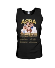 ABBA 40th years happy new year signatures shirt Unisex Tank thumbnail