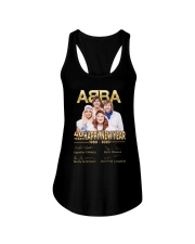 ABBA 40th years happy new year signatures shirt Ladies Flowy Tank thumbnail
