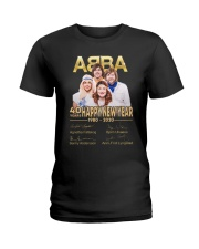 ABBA 40th years happy new year signatures shirt Ladies T-Shirt thumbnail
