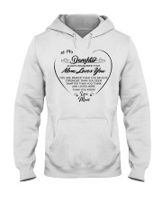 To my daughter always remember that mom loves you  Hooded Sweatshirt thumbnail