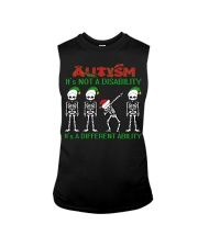 Skeleton autism is not a disability it's a differe Sleeveless Tee thumbnail