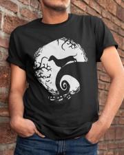 dachshund halloween 2 Classic T-Shirt apparel-classic-tshirt-lifestyle-26