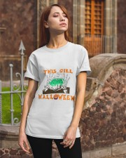 Girl Love Halloween Classic T-Shirt apparel-classic-tshirt-lifestyle-06