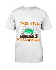 Girl Love Halloween Classic T-Shirt front