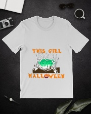 Girl Love Halloween Classic T-Shirt lifestyle-mens-crewneck-front-16