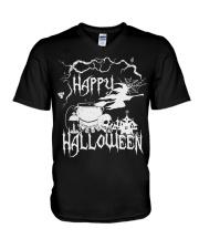 Happy Halloween V-Neck T-Shirt thumbnail