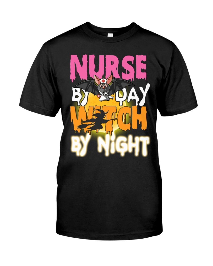 Nurse By Day Classic T-Shirt