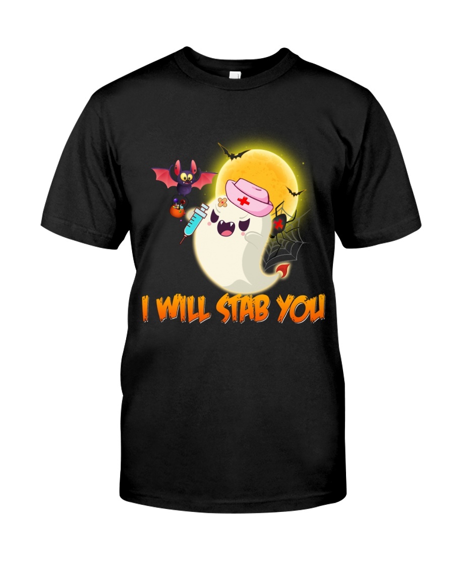 I will stab you Classic T-Shirt