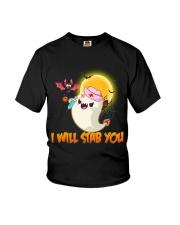 I will stab you Youth T-Shirt thumbnail