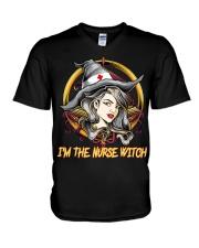 I'm The Nurse Witch V-Neck T-Shirt thumbnail