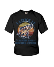 Fishing is my life Youth T-Shirt thumbnail