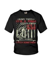 I always catch something Youth T-Shirt thumbnail