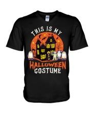 Costume Halloween V-Neck T-Shirt thumbnail