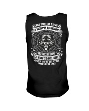 The price of being Wolf is Loneliness Unisex Tank thumbnail