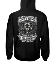 The price of being Wolf is Loneliness Hooded Sweatshirt thumbnail